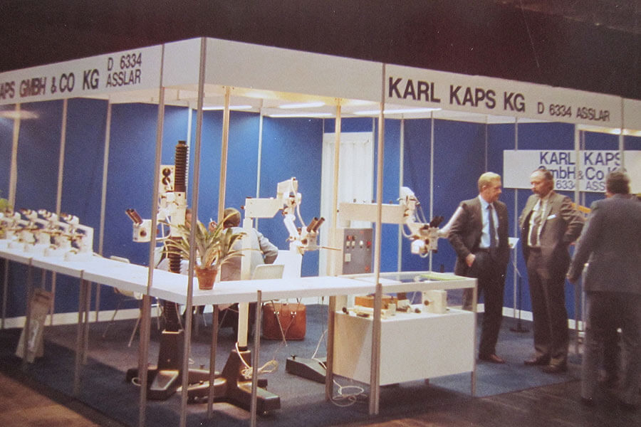 Medica Düsseldorf, Mitte der 80er Jahre