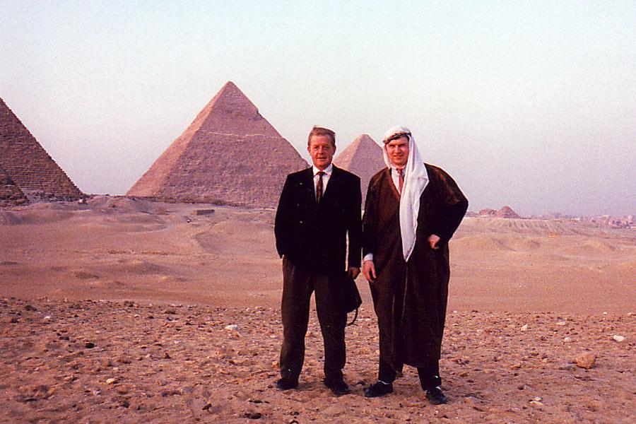Aufgenommen am 13.03.1990, Besuch Abou el Holl, Kairo Ägypten